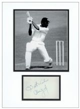 Clive Lloyd Autograph Signed Display